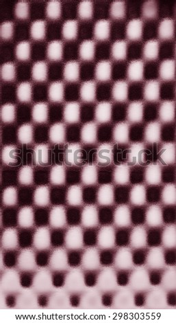 Pink abstract pattern foam chess texture background pattern - stock photo