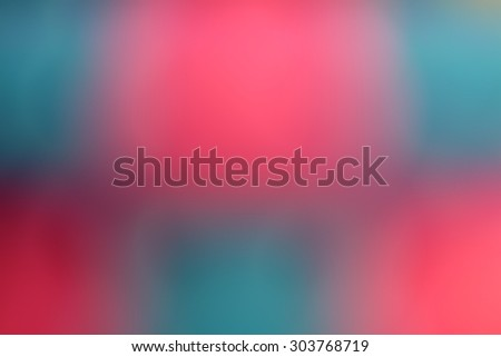 Pink and blue blurred abstract background - stock photo