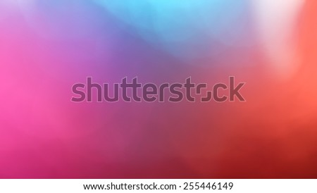 Pink and red out of focus abstract background - stock photo