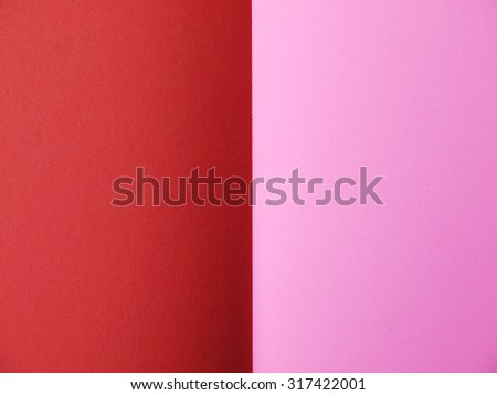 pink and red paper background - stock photo