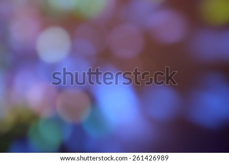 Pink and violet bokeh lights background - stock photo