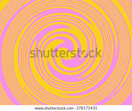 Pink and yellow swirl abstract background