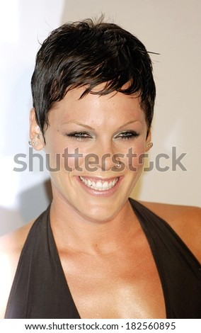 Pink at Clive Davis Pre-Grammy Party, Beverly Hilton Hotel, Los Angeles, CA, February 09, 2008 - stock photo