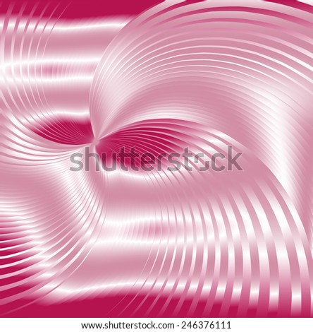Pink background swirl  abstraction - stock photo