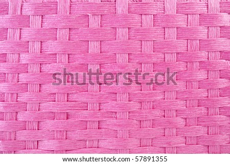 Pink Basket Weave - stock photo