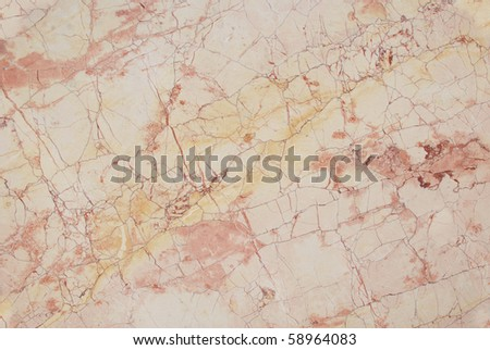 pink, beige beautiful marble - stock photo
