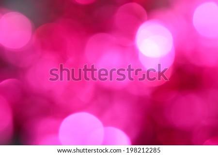 Pink bokeh - stock photo