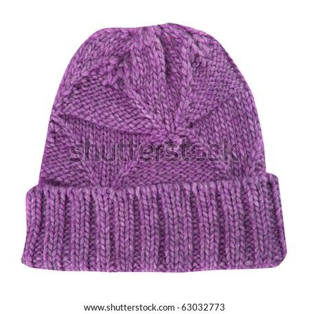 pink cap - stock photo