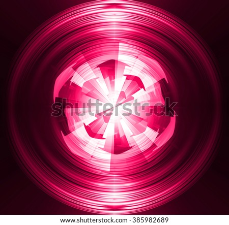pink Circle arrow wave illustration of technology internet network computer background with binary number, style. infographics. Information. motion blur. pixel. Binary digit. number. web wabsite tech - stock photo
