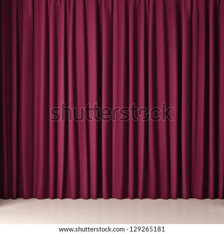 Pink cloth - stock photo