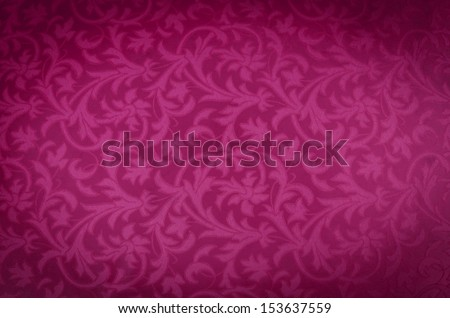 pink colored canvas fabric texture - stock photo