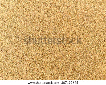 Pink coral pieces give Bermuda sand its famous pink hue  - stock photo