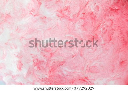 Pink Cotton Wool Texture