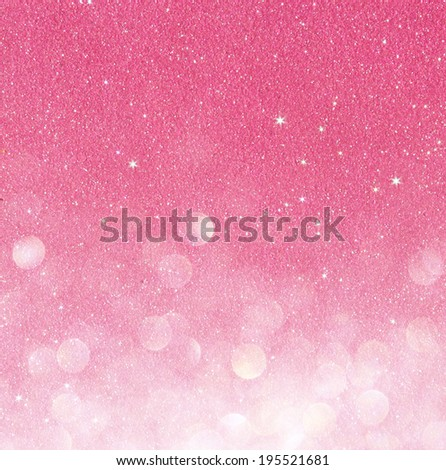 pink defocused lights background. abstract bokeh lights - stock photo