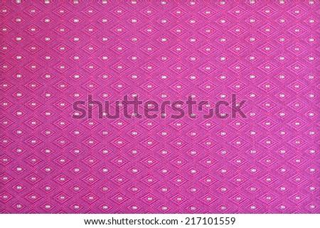 Pink Fabric Texture - stock photo
