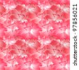 Pink flower seamless pattern background  Vector version is also available in my portfolio - stock photo