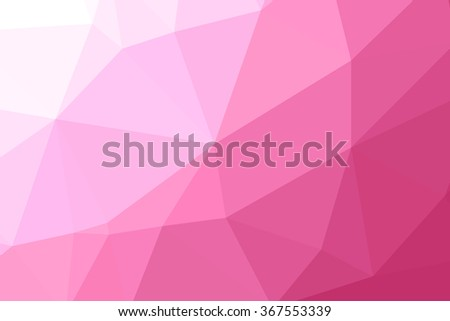 pink geometric rumpled triangular low poly origami style gradient illustration graphic background for valentine day.