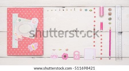 Pink Gift folder for newborn documents