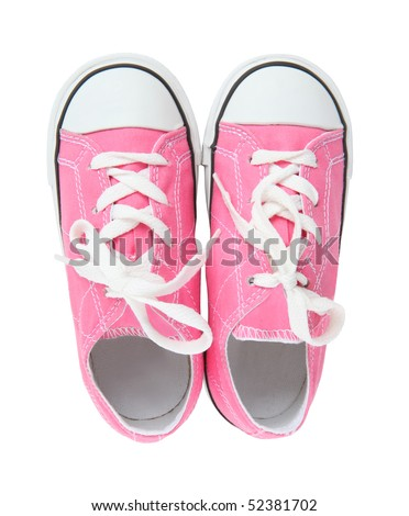 Pink Tennis Shoes Stock Photos, Royalty-Free Images & Vectors ...