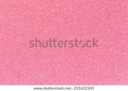 Pink glitter texture for background - stock photo