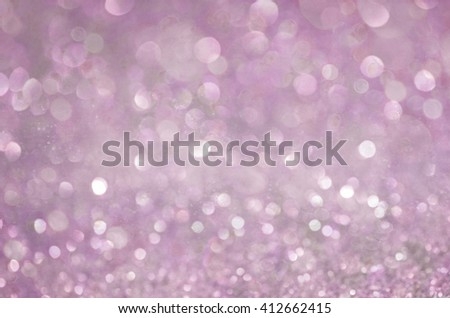 Pink Glow glitter background. Elegant abstract background with bokeh  - stock photo