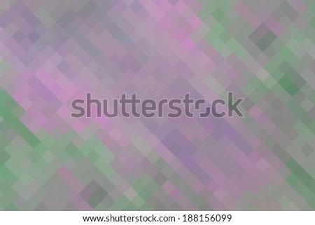 Pink green  vintage geometric background - stock photo