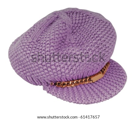 pink hat - stock photo