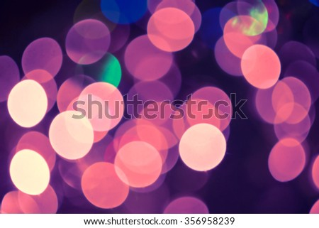 Pink holiday bokeh background - stock photo