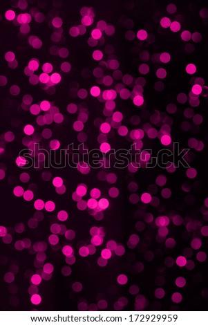 pink Illuminated Background Lights - stock photo