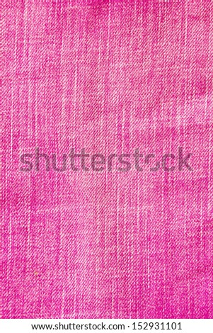 pink jeans texture - stock photo