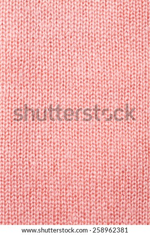pink knitted textured background - stock photo