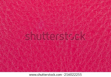 Pink leather background. - stock photo