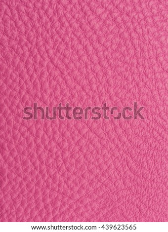 Pink leather macro shot texture for background - stock photo
