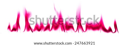 Pink light smoke abstract background - stock photo