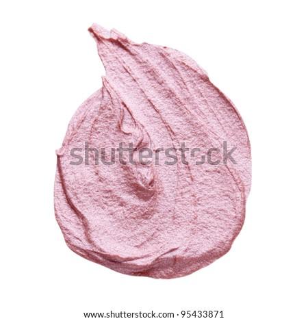 Pink Liquid Eye Shadow - stock photo