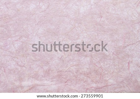 pink mulberry paper - stock photo