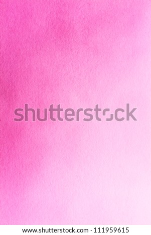 Pink paper watercolour  texture for artwork / Old pink paper texture - stock photo