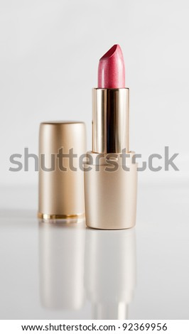Pink Pearl lipstick on a light background