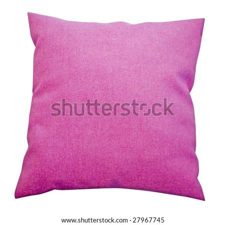 pink pillow - stock photo