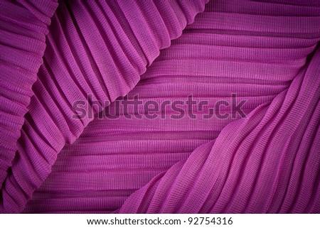 Pink purple fabric texture - stock photo
