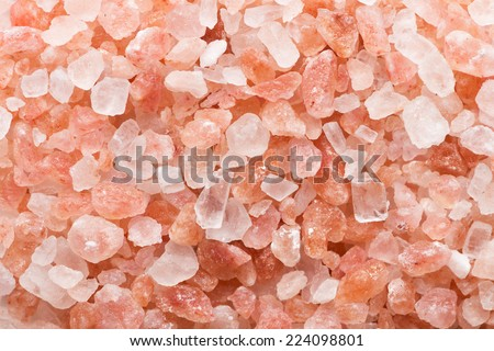 Pink salt background - stock photo