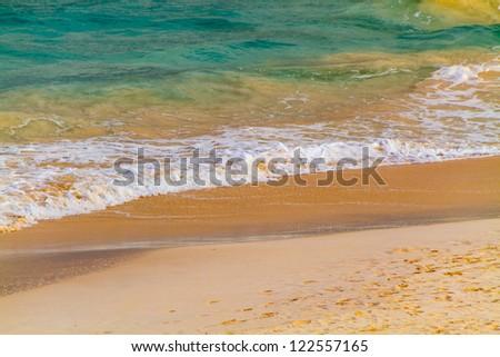 Pink Sands of Bermuda - stock photo