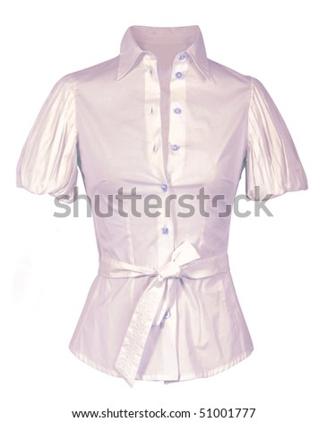pink shirt - stock photo