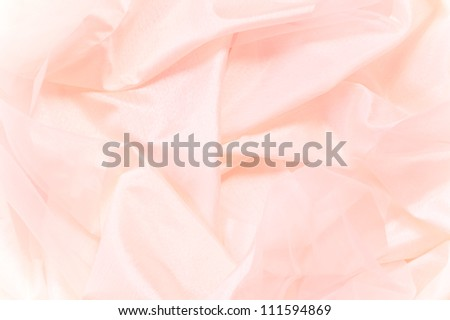 Pink silk texture background - stock photo