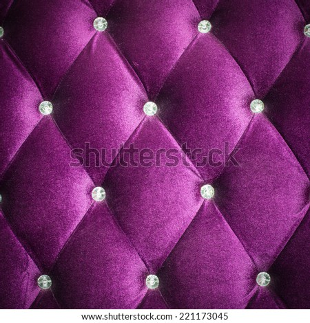 Pink  sofa background in the hotel - stock photo