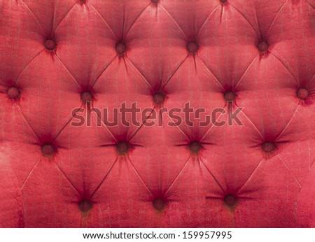 Pink sofa leather background - stock photo