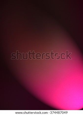 Pink sphere  - abstract art - stock photo