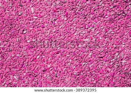 Pink  stone wall seamless pattern - stock photo