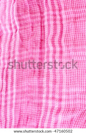 Pink textile background - stock photo