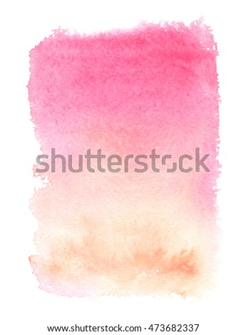Pale Orange pink pale orange vertical color gradient stock illustration